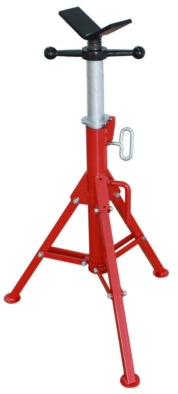 Folding V Head Pipe Stand Support Adjustable 32 55 Quot Fits